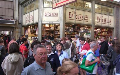 Travelling To Queen Victoria Market In A Big Group